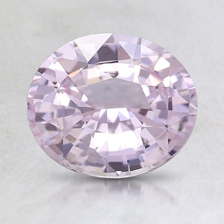 7.7x6.5mm Unheated Pink Oval Sapphire