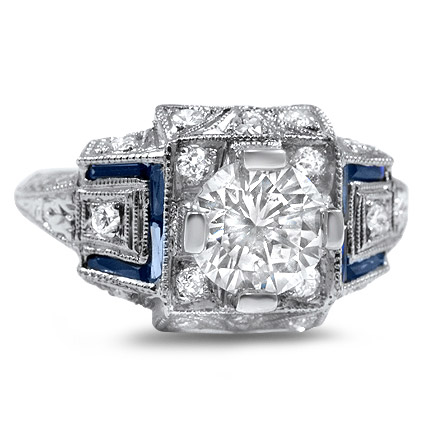 The Aristocrat Ring, top view