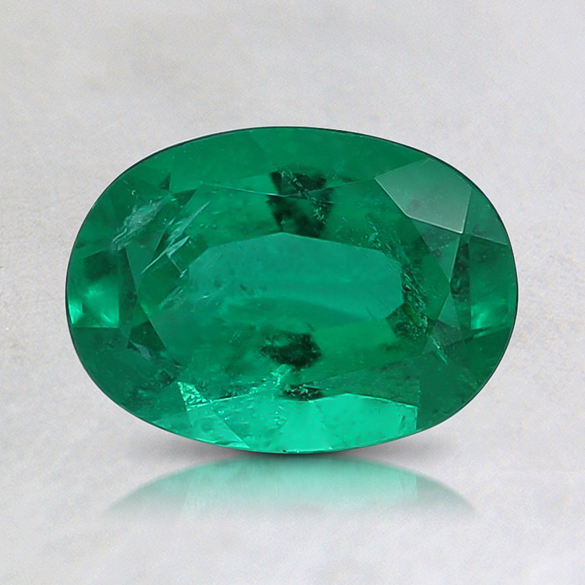 6.9x5mm Premium Oval Emerald