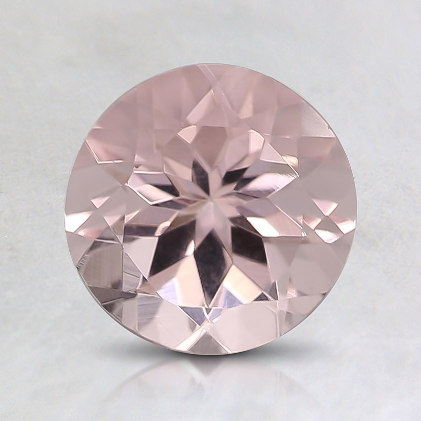 7mm Premium Pink Round Morganite