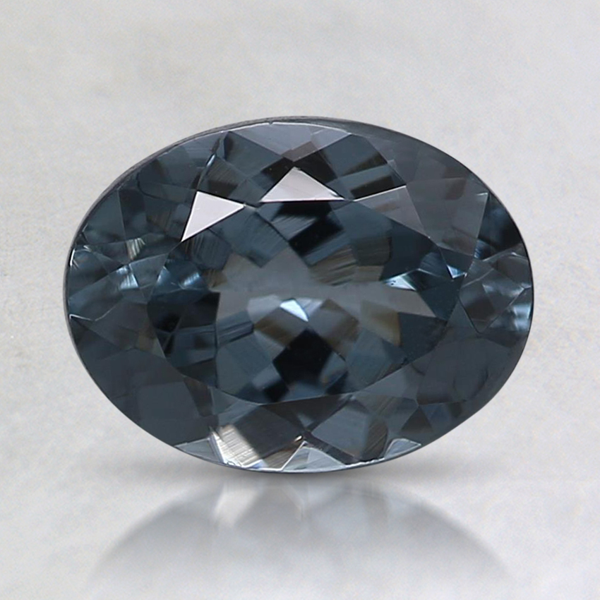 8x6mm Gray Oval Spinel