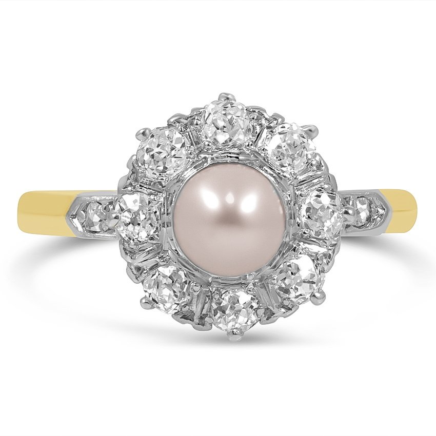 Art Deco Pearl Vintage Ring