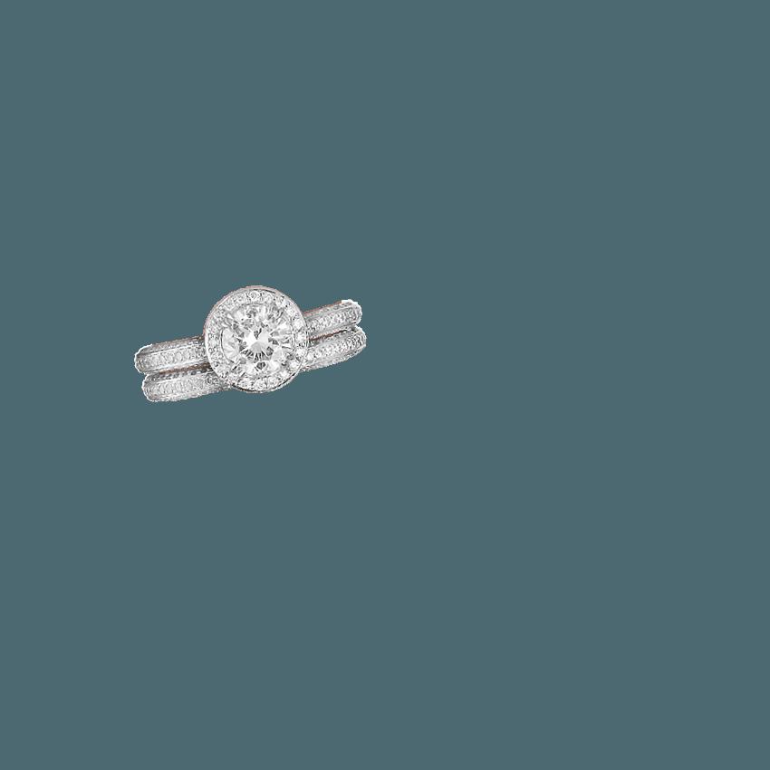 Enchant Halo Diamond Ring