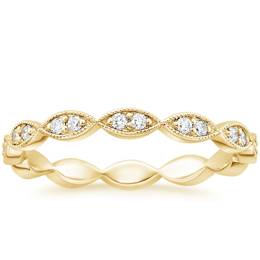 Yellow Gold Cadenza Eternity Diamond Ring (1/4 ct. tw.)