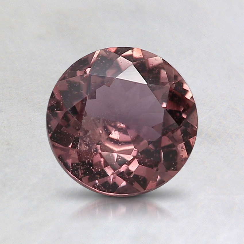 6.3mm Unheated Pink Round Sapphire