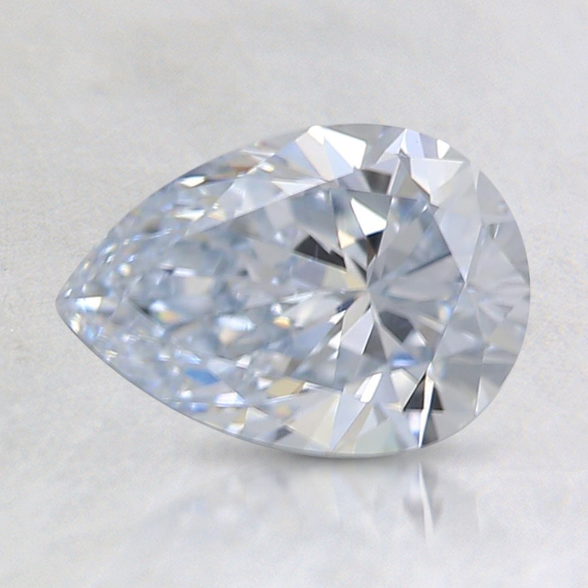 1.00 Ct. Very Light Blue Pear Lab Created Diamond
