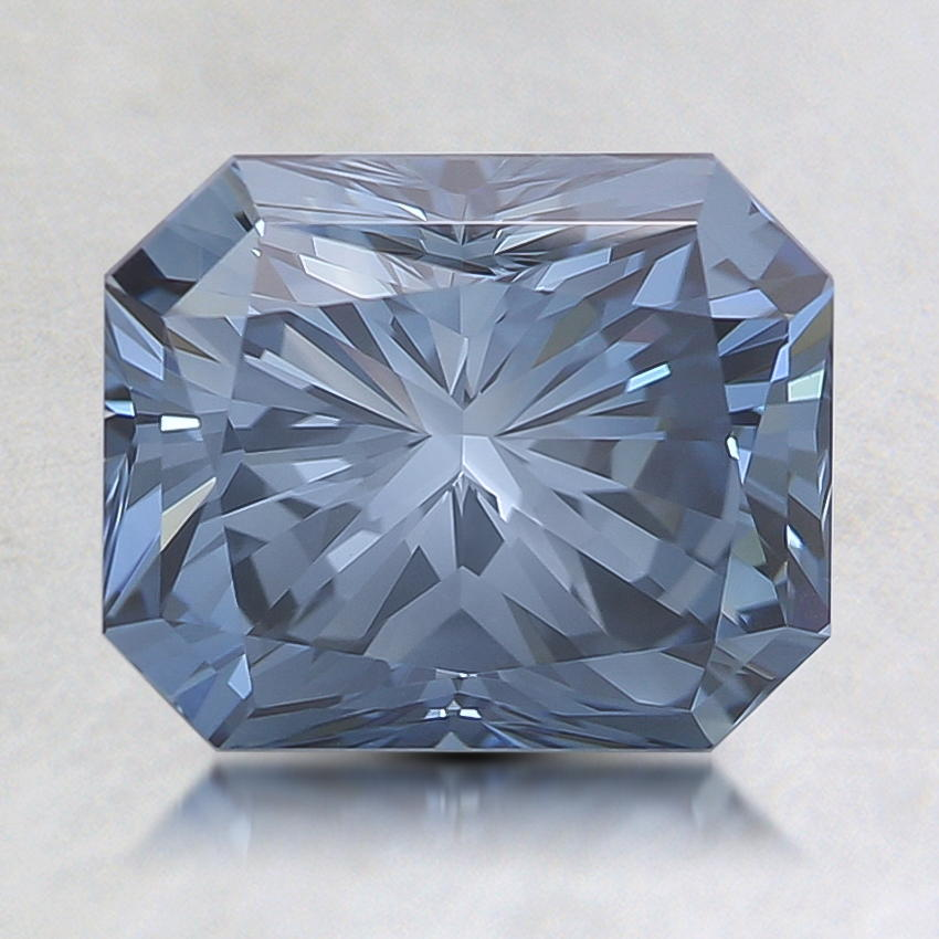 2.02 Ct. Fancy Deep Blue Radiant Lab Created Diamond