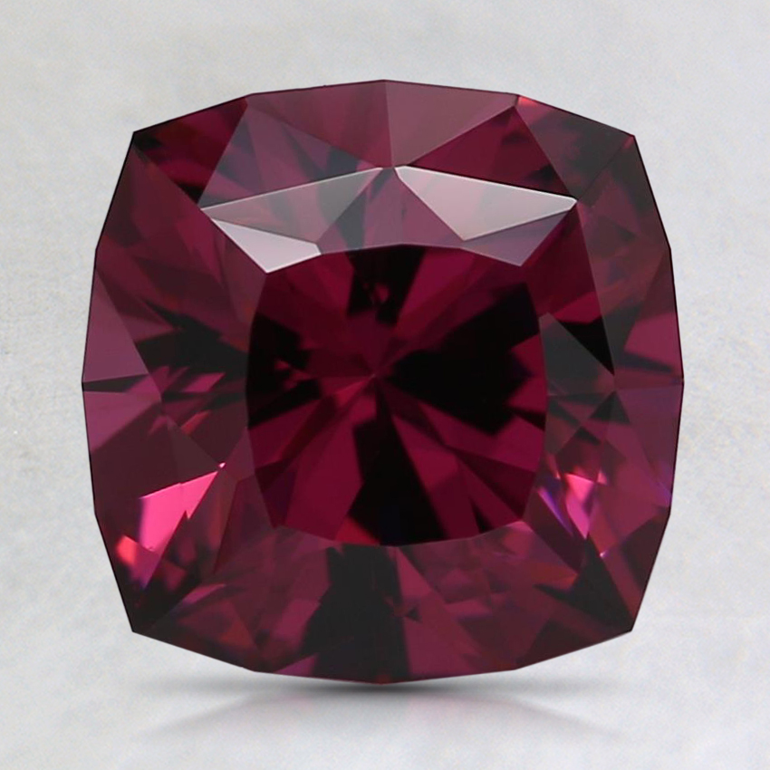 8mm Red Modified Cushion Rhodolite Garnet