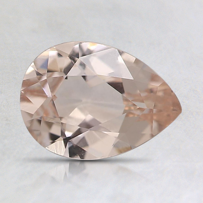 8.1x5.9mm Peach Pear Morganite