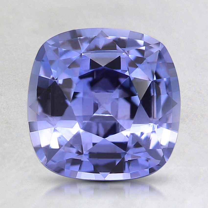 7.6mm Purple Cushion Sapphire