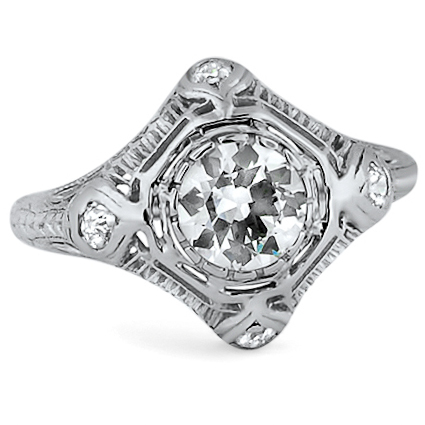 The Arabella Ring, top view