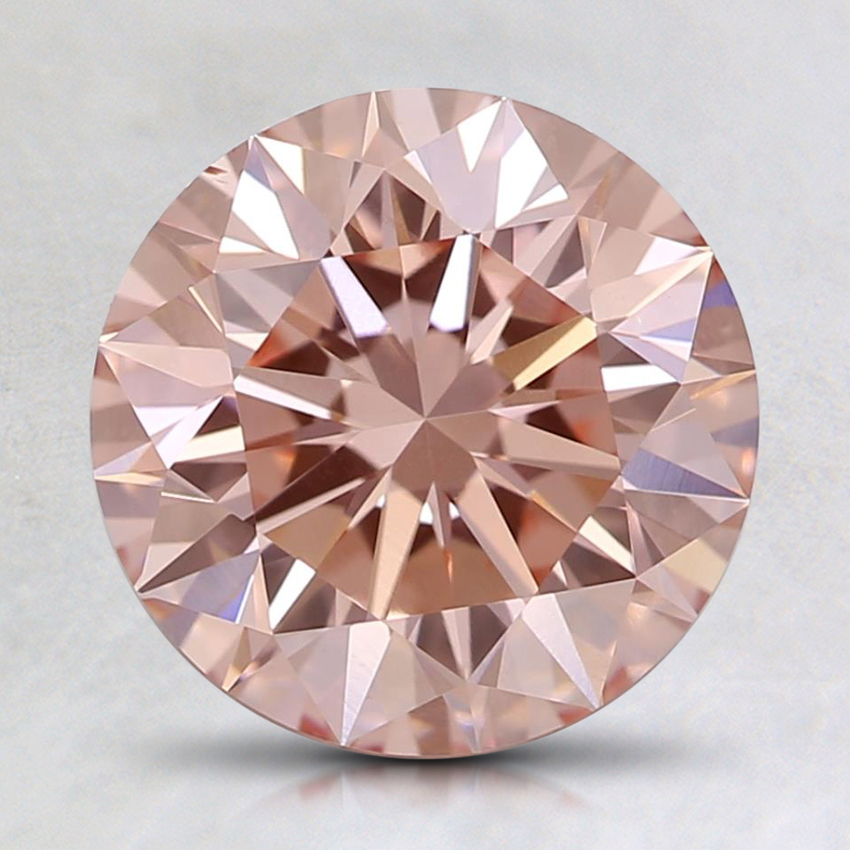 2.00 Ct. Fancy Pink Round Lab Created Diamond