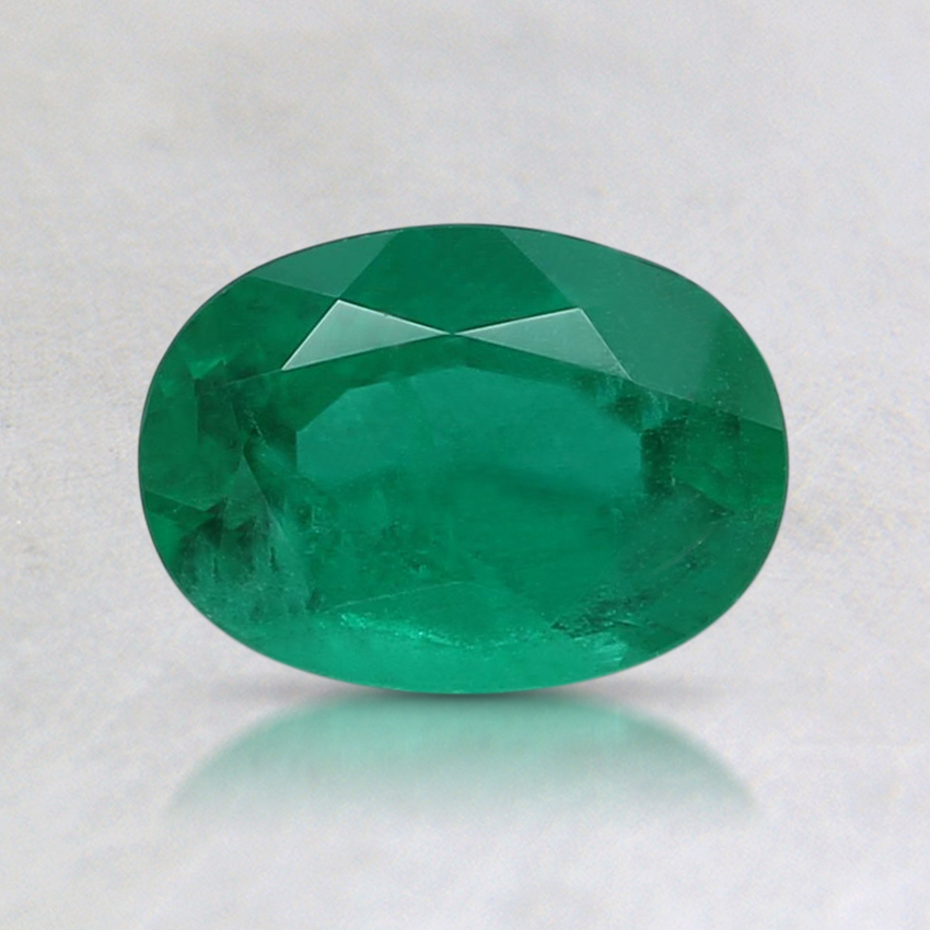 7.1x5.1mm Oval Emerald