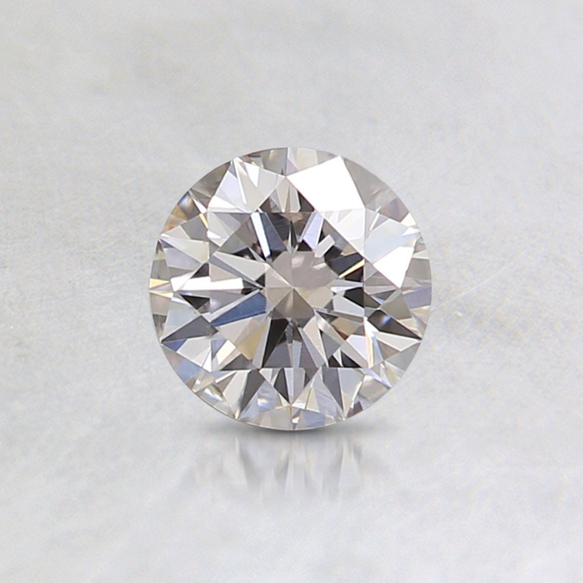 0.50 Ct. Light Pinkish Brown Round Diamond