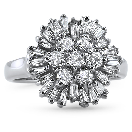 The Renata Ring, top view
