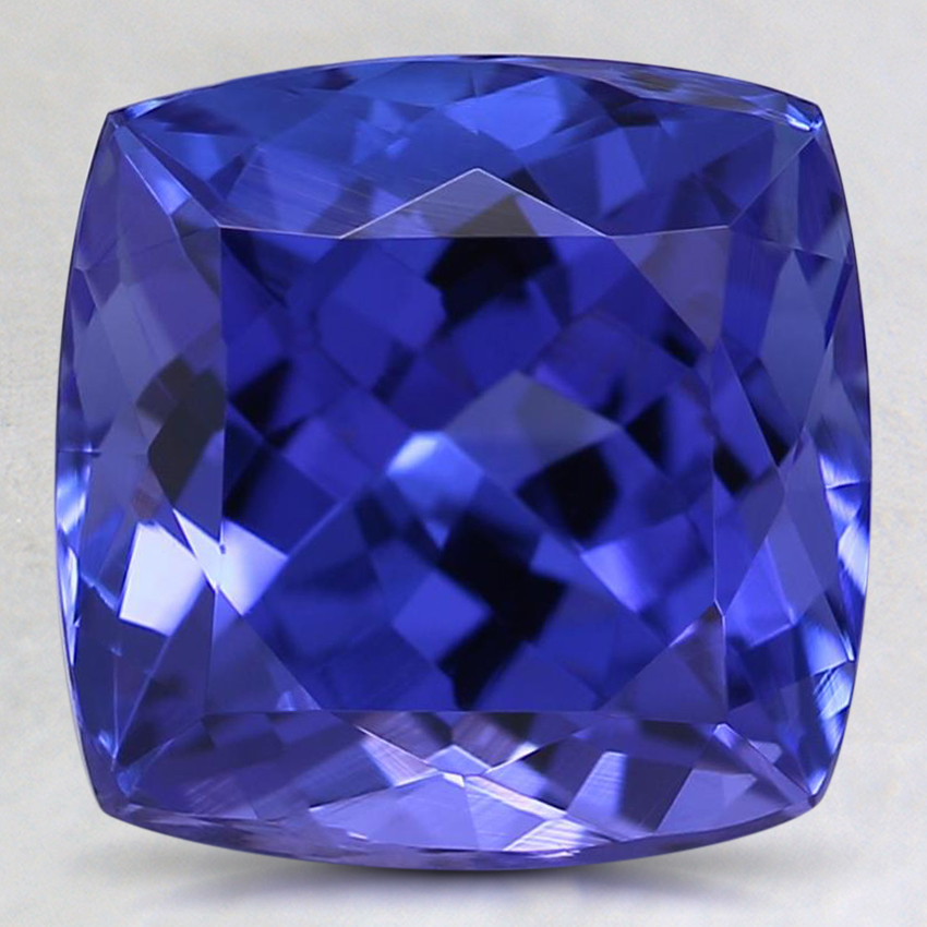 9mm Purple Cushion Tanzanite