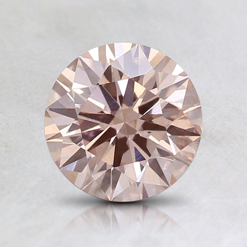 1.01 Ct. Fancy Light Pink Round Lab Created Diamond