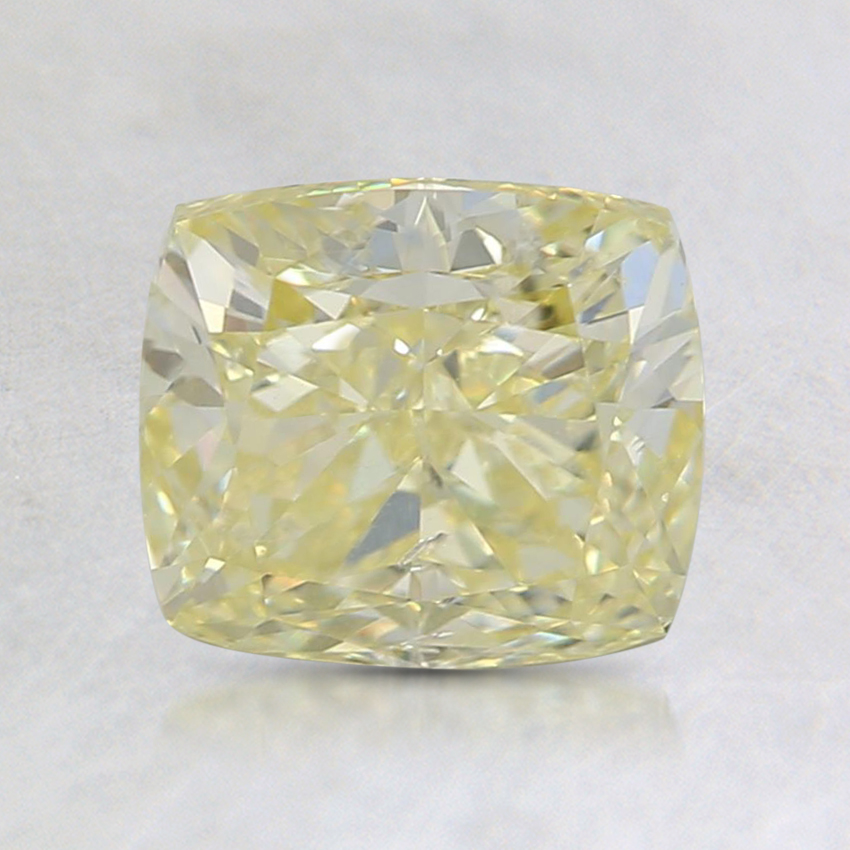 1.60 Ct. Fancy Yellow Cushion Diamond