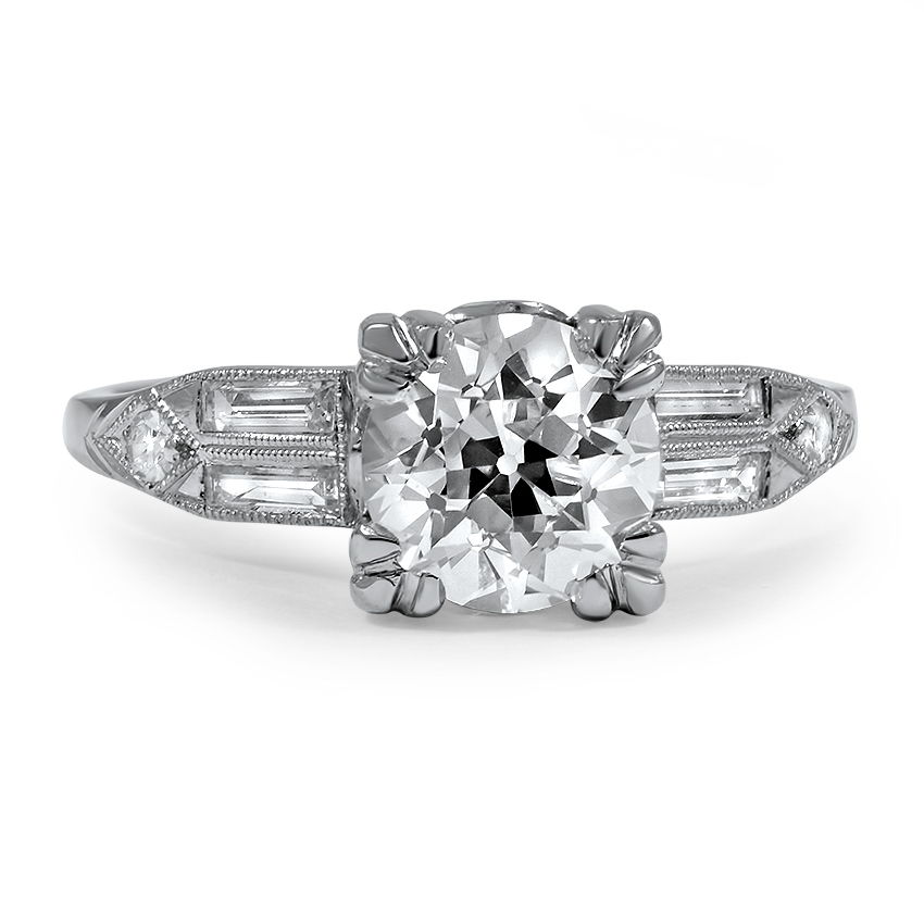 Home Engagement Rings Vintage The Haizea Ring