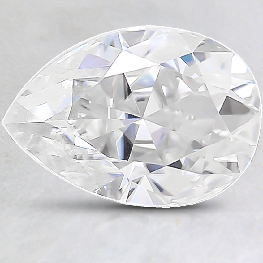 12x8mm Super Premium Pear Moissanite