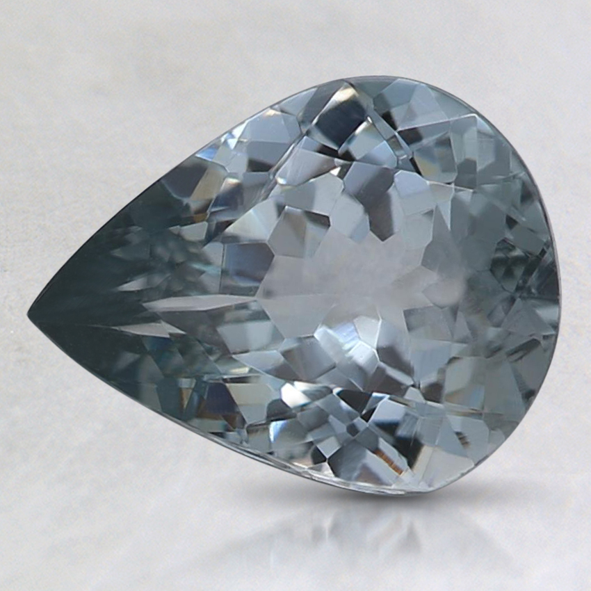 9.1x7.1mm Gray Pear Spinel