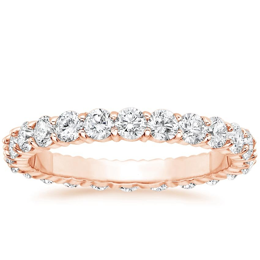 Rose Gold Diamond Eternity Ring (1 1/3 ct. tw.)