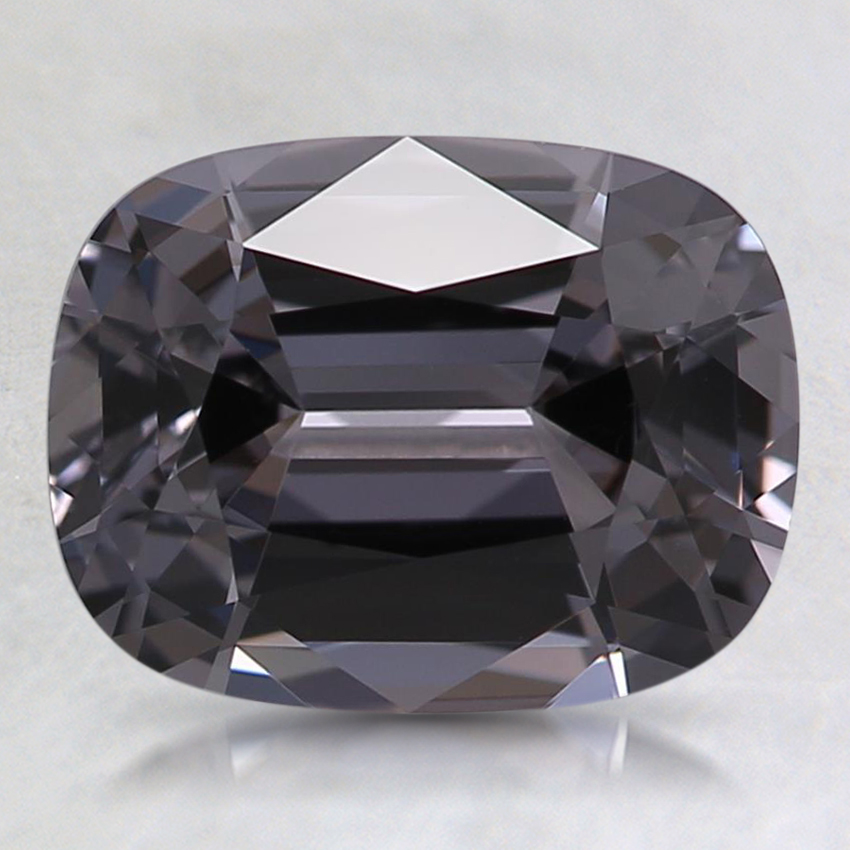 8.6x6.6mm Gray Cushion Spinel