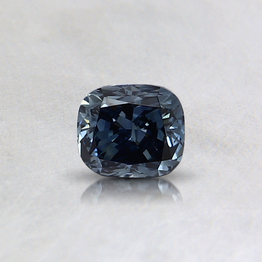 0.32 Ct. Fancy Blue Cushion Lab Created Diamond