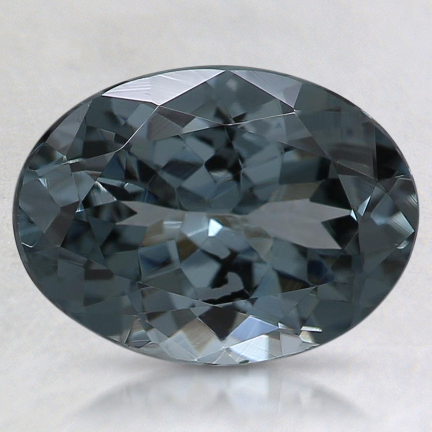 9.6x7.1mm Gray Oval Spinel