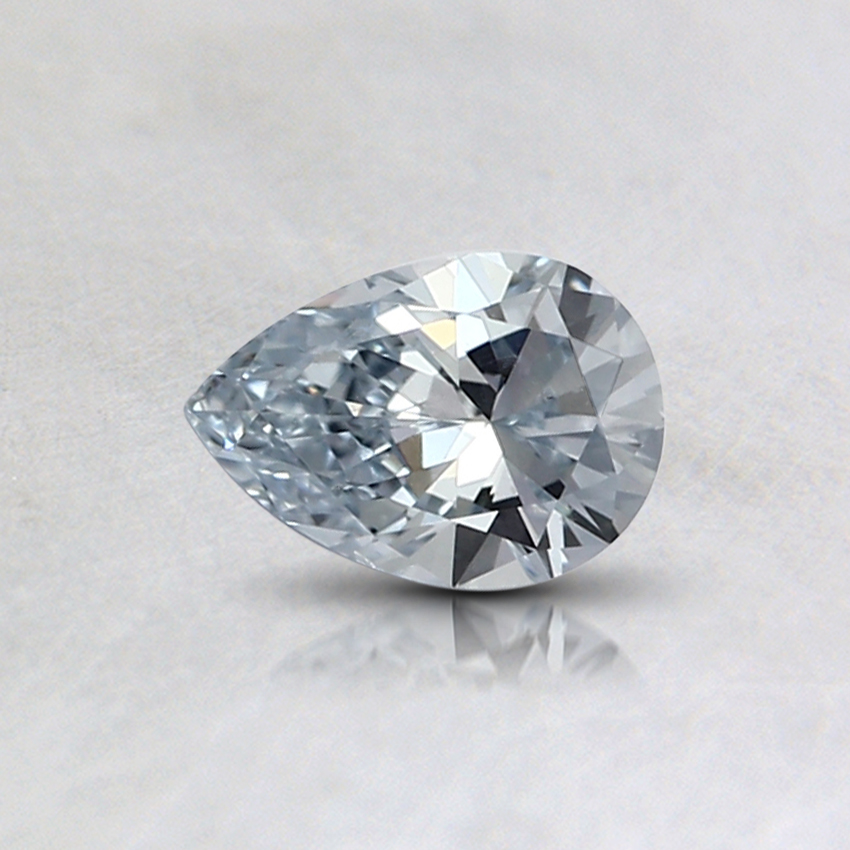 0.32 Ct. Light Blue Pear Lab Created Diamond
