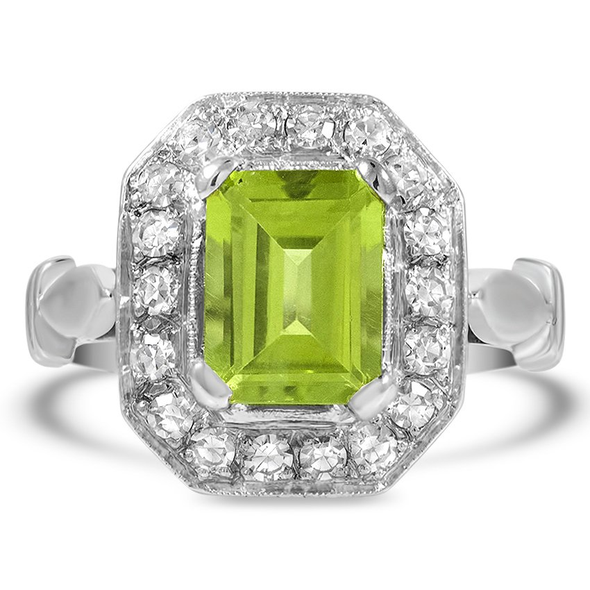 Modern Peridot Cocktail Ring
