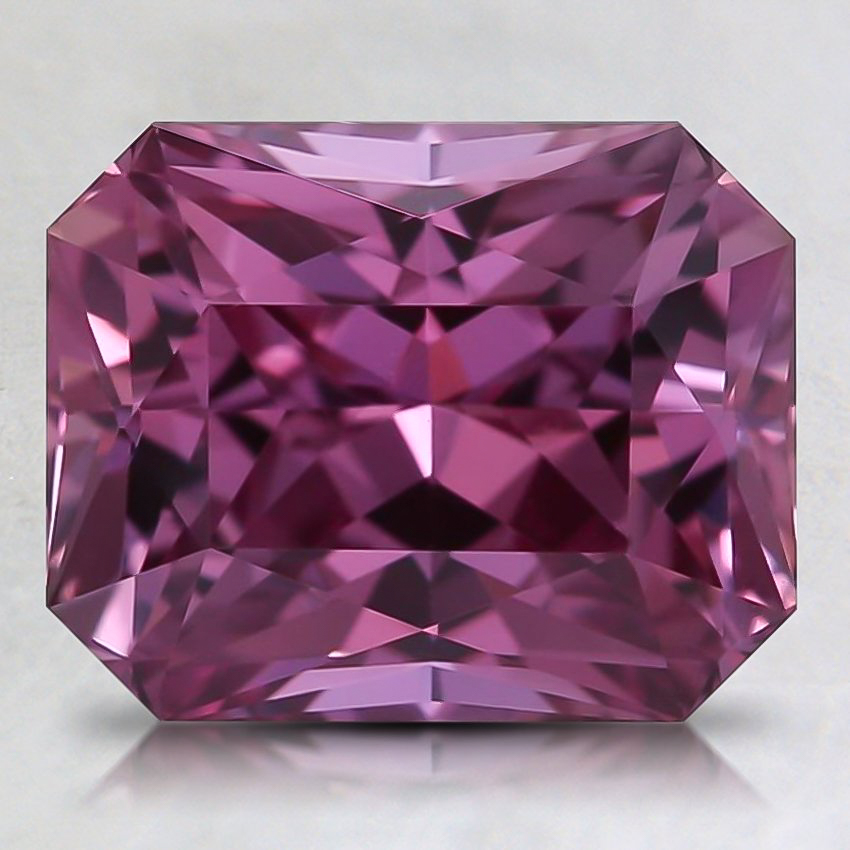 9x7.2mm Pink Radiant Sapphire