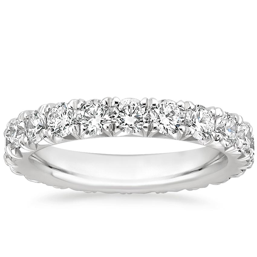 Pavé Diamond Eternity Ring