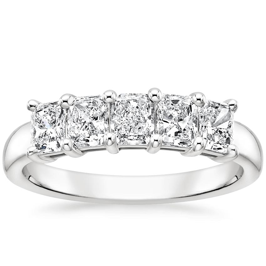 Radiant Five Stone Diamond Ring (1 ct. tw.)