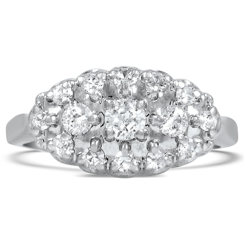in rose cocktail engagement pm fj round ring diamond baguette rings pave gold