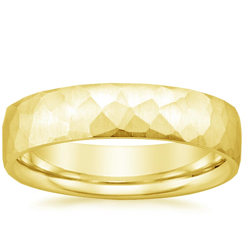 Yellow Gold Everest Wedding Ring