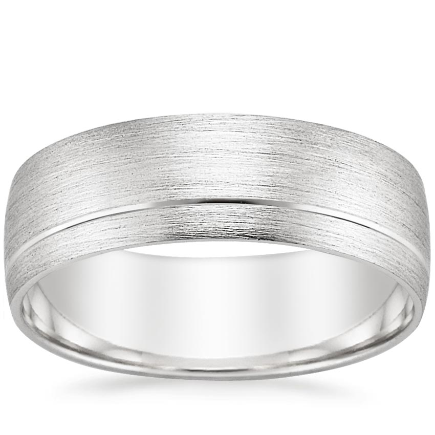 Matte Men's Asymmetrical Ring
