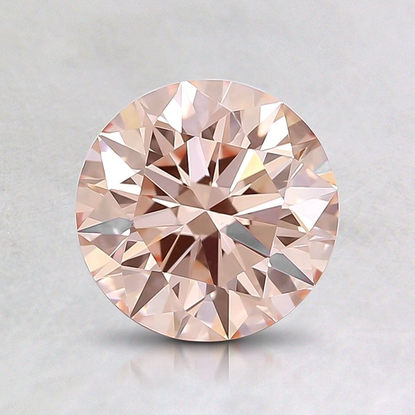 1.09 Ct. Fancy Pink Round Lab Created Diamond