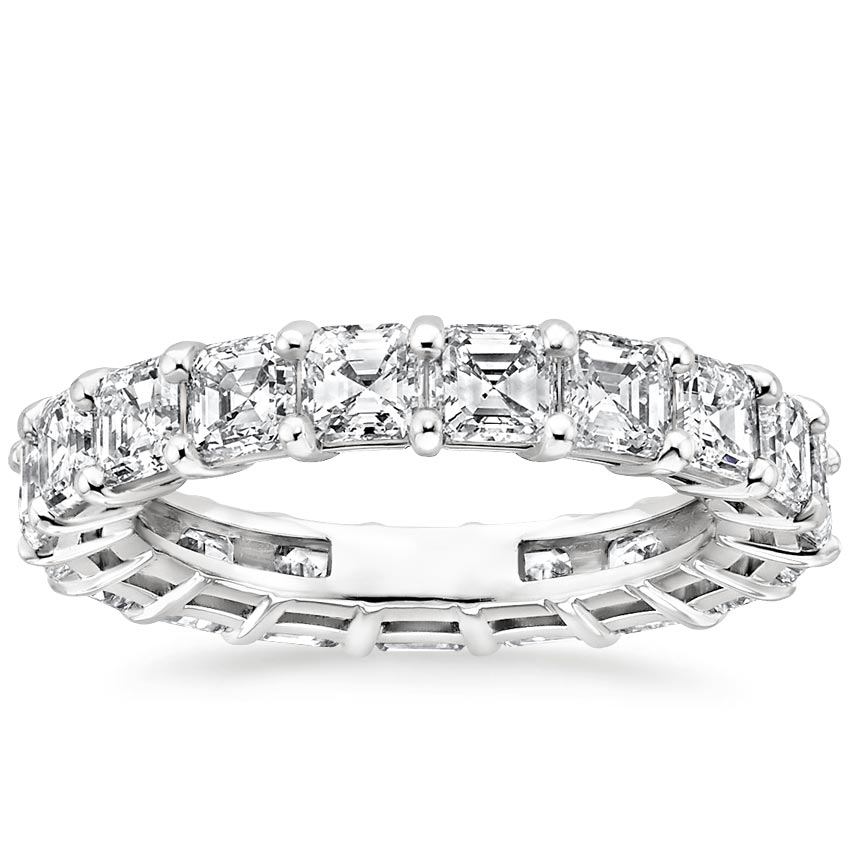 Asscher Eternity Diamond Ring (4 ct. tw.)