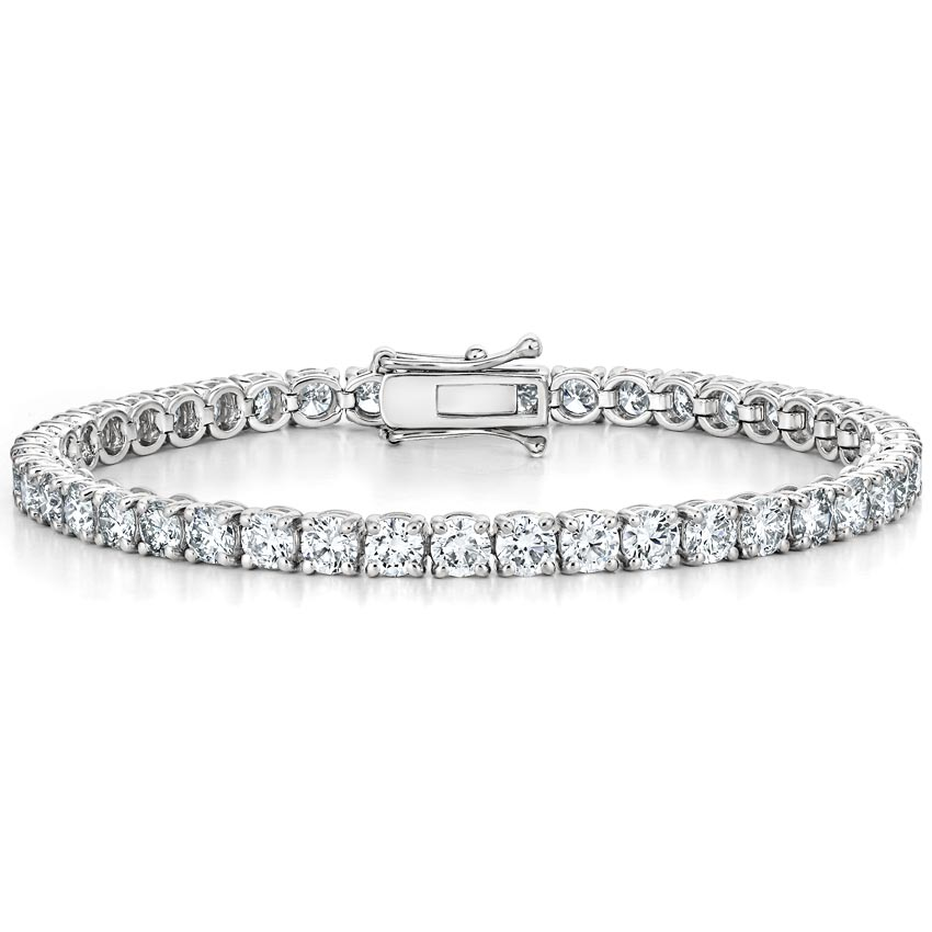 Certified Lab Created Diamond Tennis Bracelet 10 Ct Tw
