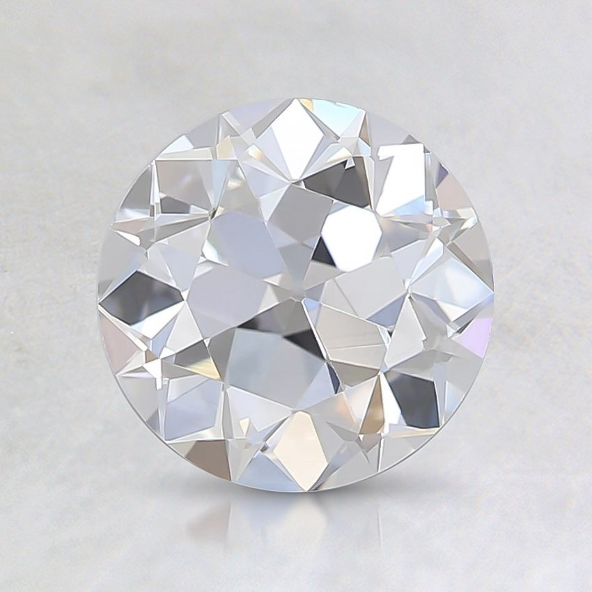 1.22 Ct., D Color, VS2, Old European Cut Diamond