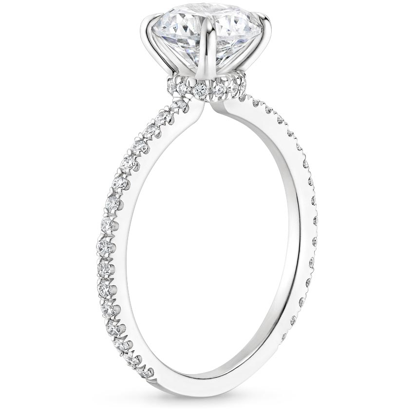75fa41d7b9469e Hidden Halo Engagement Ring | Demi | Brilliant Earth