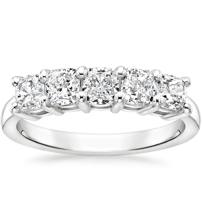 Cushion Five Stone Diamond Ring (1 1/2 ct. tw.)