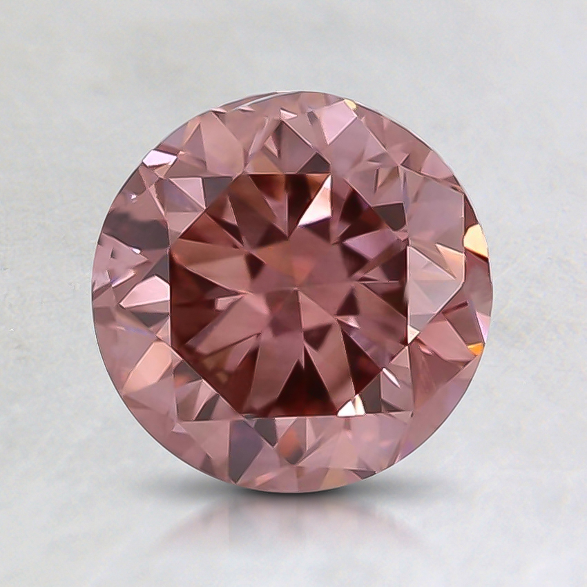 1.01 Ct. Fancy Pink Round Lab Created Diamond