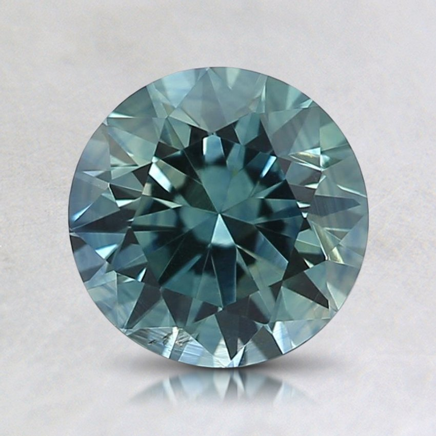 6.2mm Montana Teal Round Sapphire
