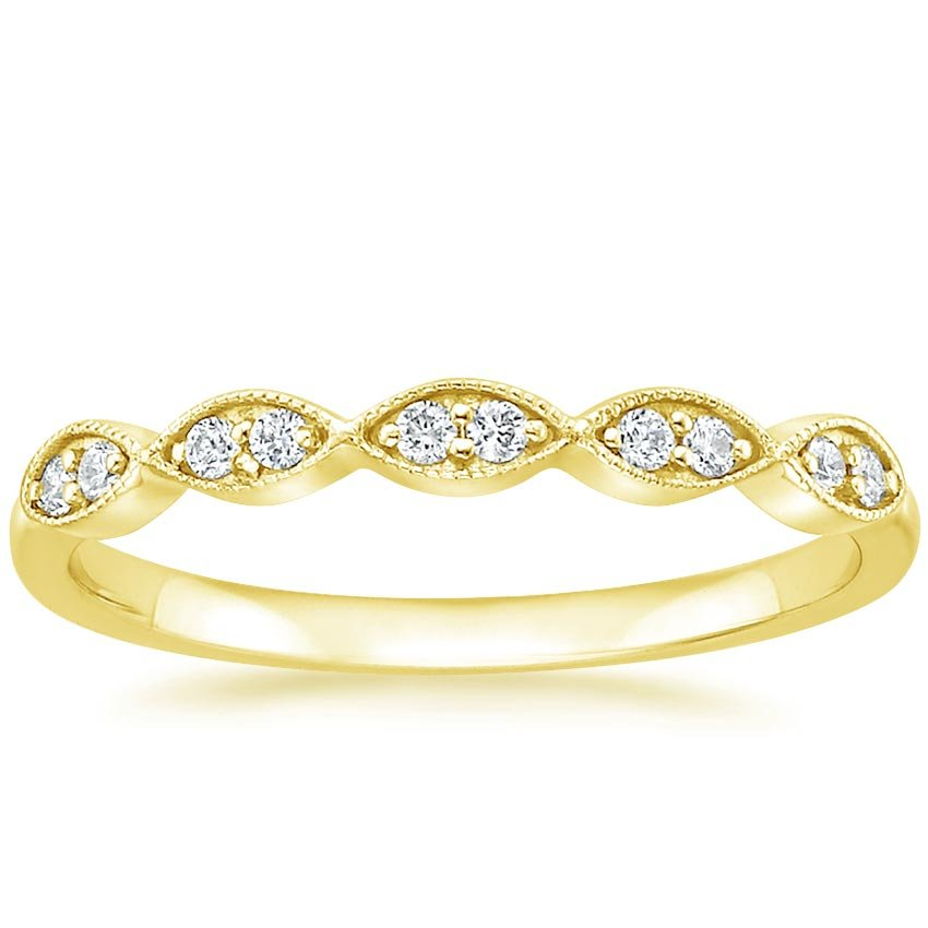 Top Twenty Women's Wedding Rings  - CADENZA DIAMOND RING (1/10 CT. TW.)