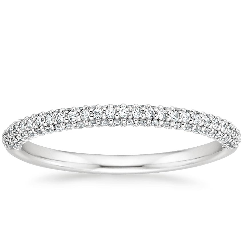 Micro-Pavé Diamond Ring