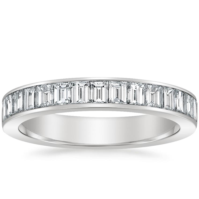 Channel Set Baguette Diamond Ring