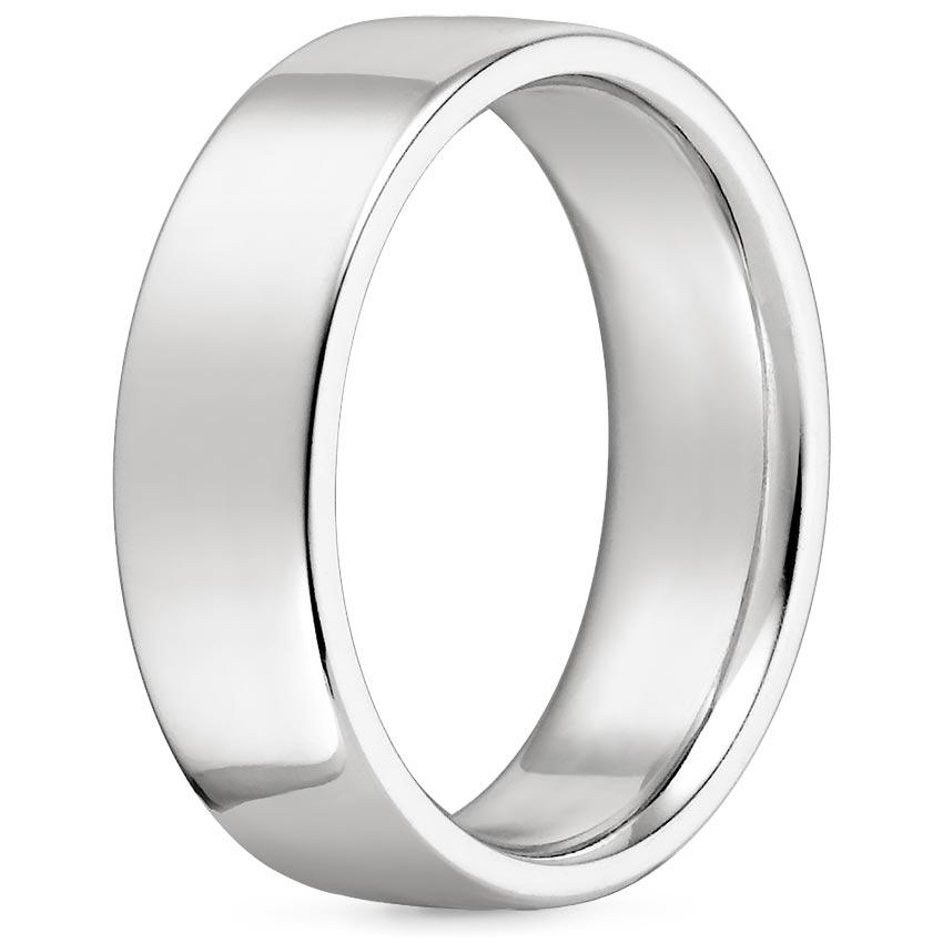 Platinum 4mm Wedding Band: 4mm Mojave Wedding Ring In Platinum