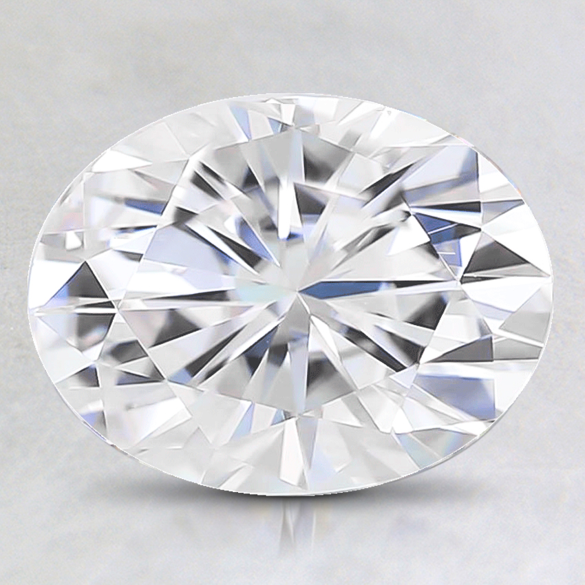 9x7mm Super Premium Oval Moissanite
